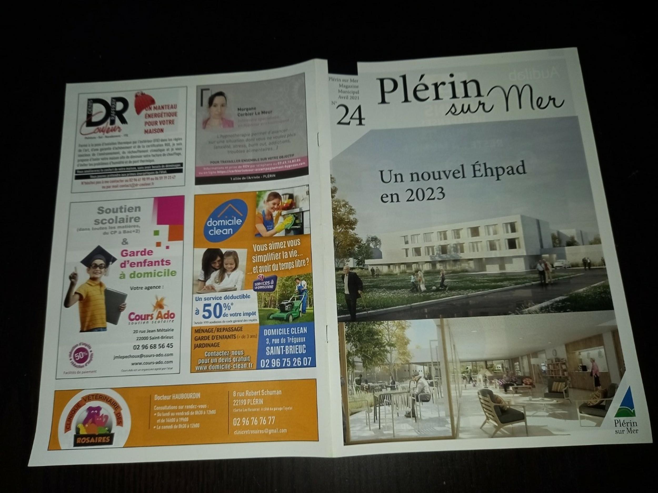 DR Couleur - Parution magazine Plérin