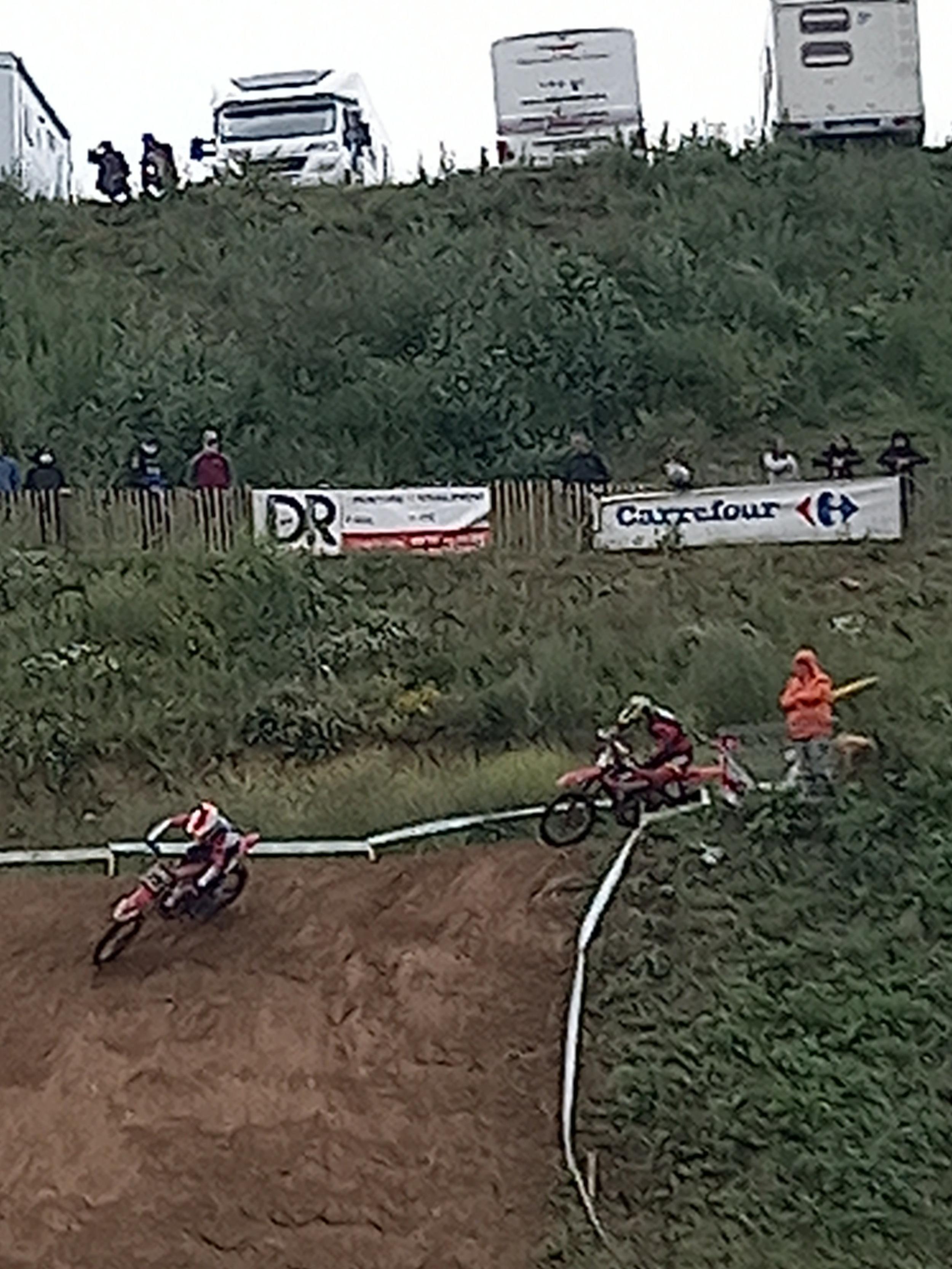 DR Couleur Sponsor de la Course nationale de moto cross de Saint-Brieuc le 20/06/2021