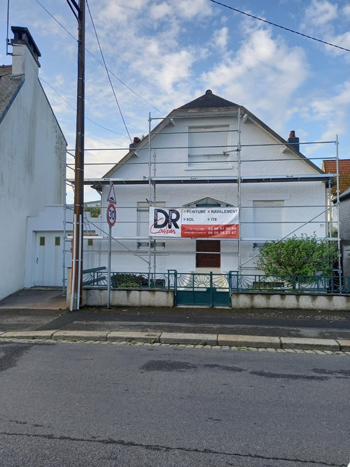 Ravalement de façade - Secteur Saint Brieuc