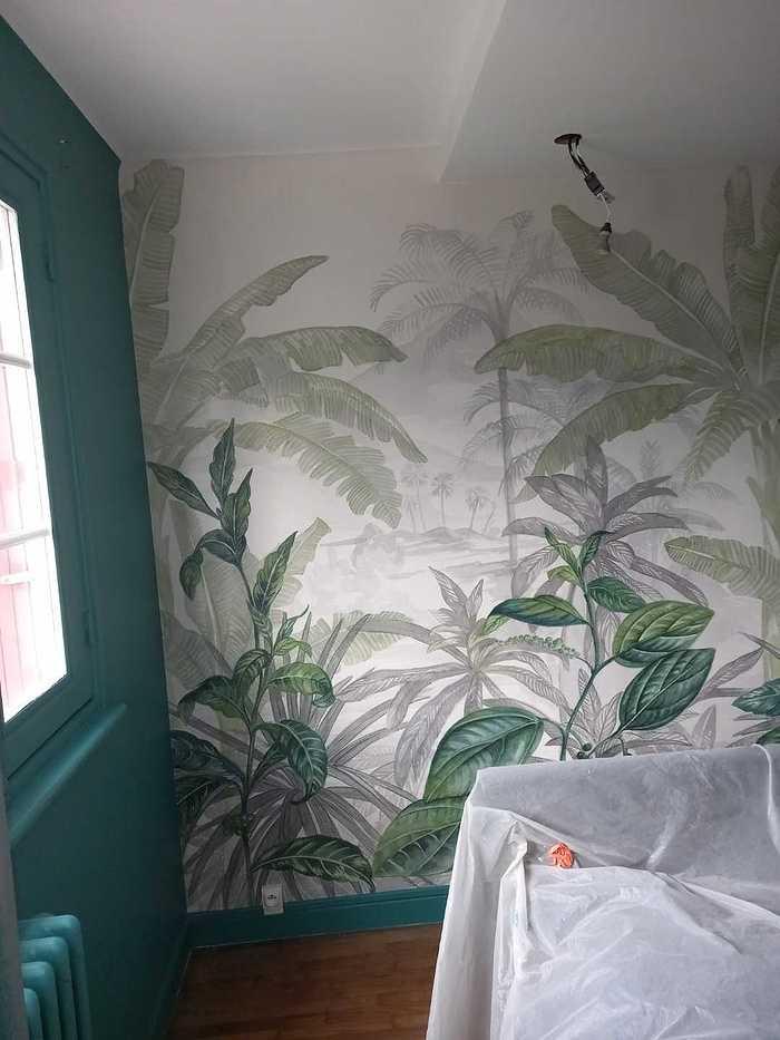 Peinture - Pose d''un panoramique - descente de plafond plus spots resized20210202102750