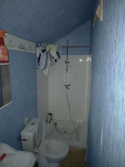 Salle de bain - Toile intissée / Plouézec 202102191802531