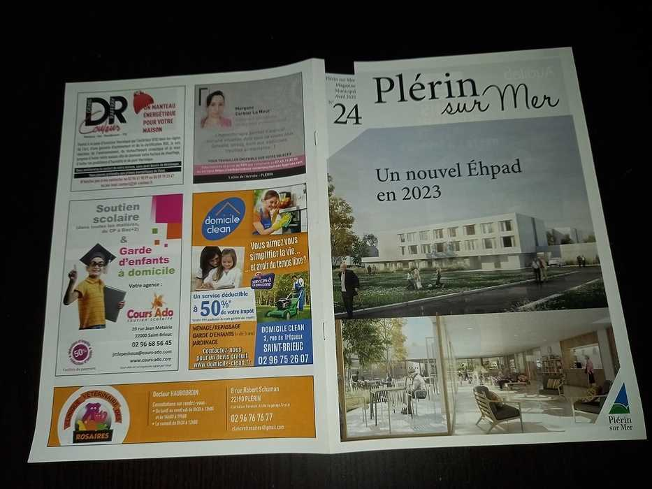 DR Couleur - Parution magazine Plérin 0